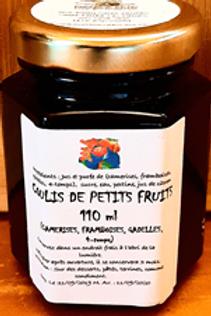 Coulis de 4 fruits