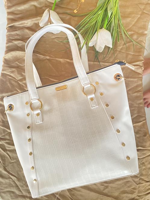 White Basic Tote Bag