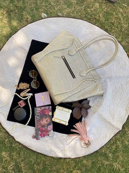 Gold Luxury Tote