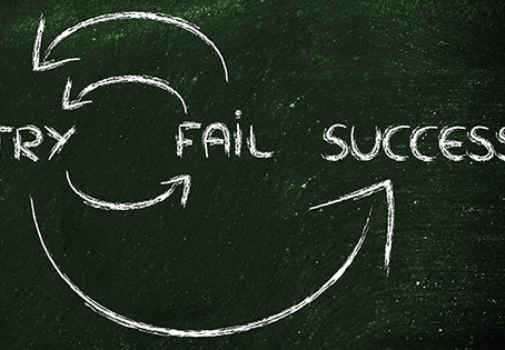 It's OK to fail........failure builds resilience in our kids.