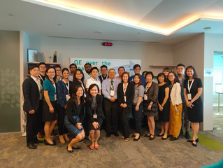 I am honoured to have facilitated an Employer Branding Workshop@Enterprise Singapore for the Advance