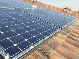 Impianto per Allontanare i Piccioni dal Fotovoltaico