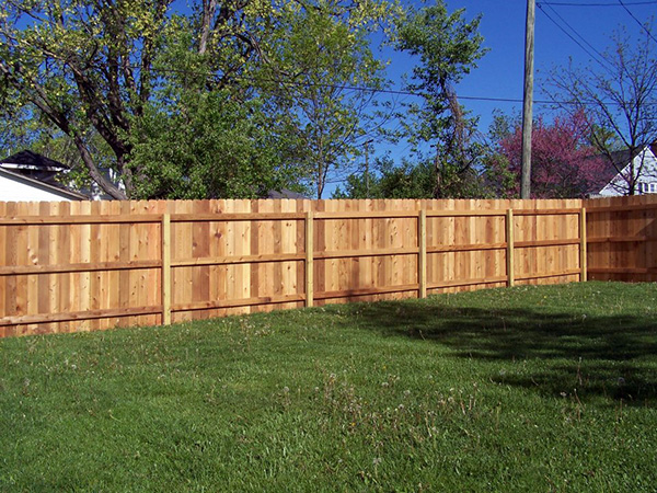 Dog Ear picket fence (1)
