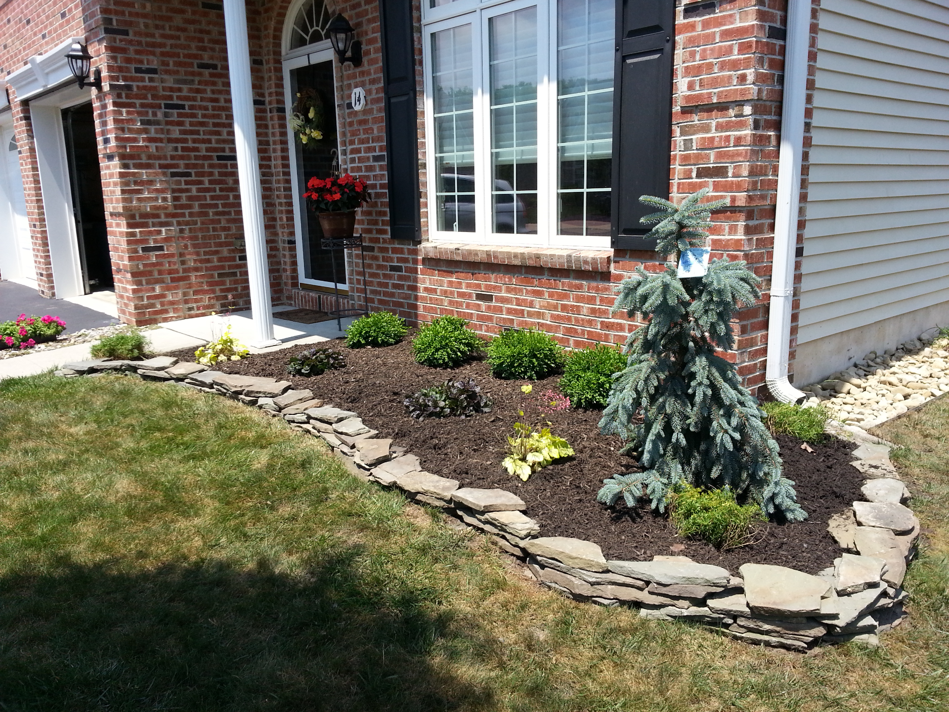 Mulch Garden Design