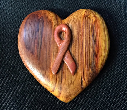 Breast Cancer Comfort Heart