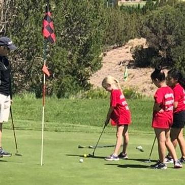 Girls Inc. Golf Camp