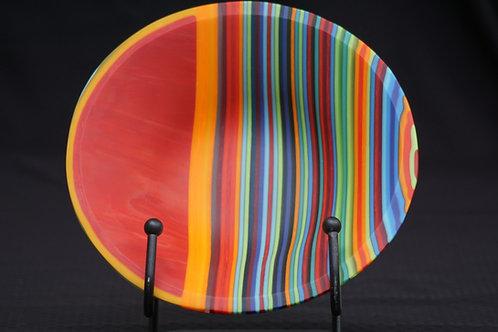 Color Striped Bowl
