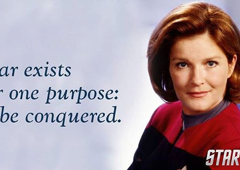 Captain Janeway and Leadership