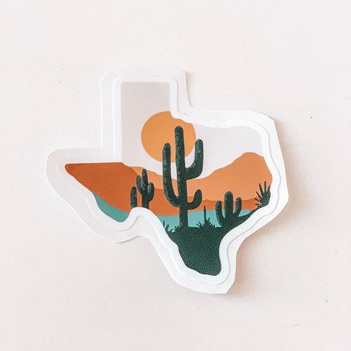Texas Heat Sticker