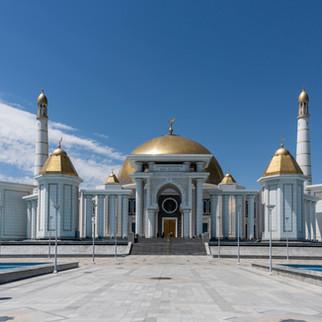 Mosque Turkmenbasy Niazov, Ashgabat, Turkmenistan