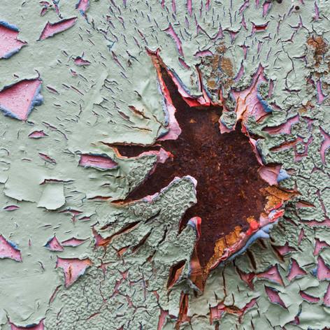 Paint and Rust, Chernobyl, Ukraine