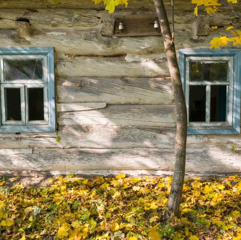 Abandoned House, Chernobyl, Ukraine