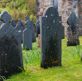 Graveyard,  Ballachulish, Scotland