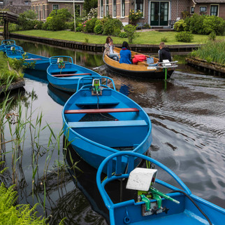 Boats, Giethoorn, The Netherlands