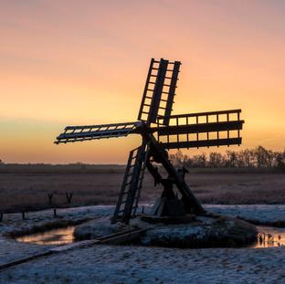 'Tsjaker' Mill in Wetering, The Netherlands