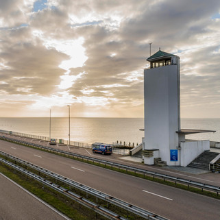 'Afsluitdijk Monument' by Dudok, The Netherlands