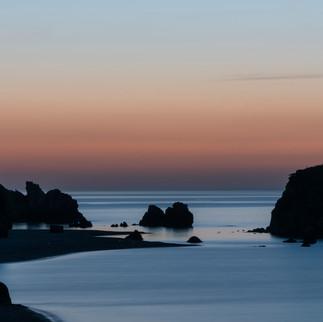 Sunset Black Sea, Turkey