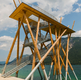 Watch Tower at the Achensee, Pertisau, Austria