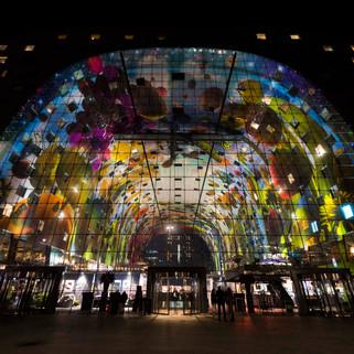 'Markthal' by MVRDV, Rotterdam, The Netherlands