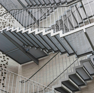 Fire Stairs, Kolumba Museum by Zumthor, Cologne, Germany