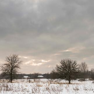 Winterlandscape, Chernobyl, Ukraine