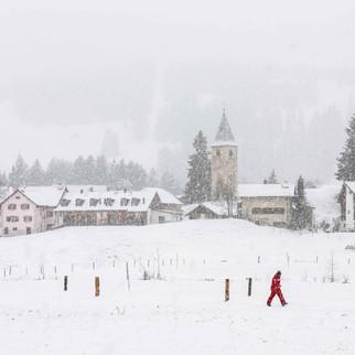 Winter in Parpan, Switzerland
