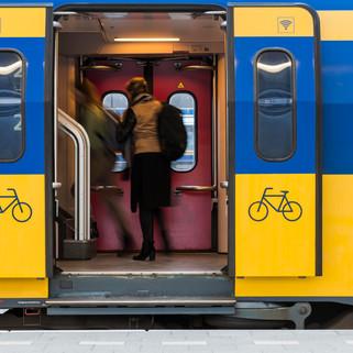 Trainwith Passengers, Utrecht, The Netherlands