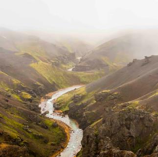 Mountains Kerlingarfjoll, Iceland