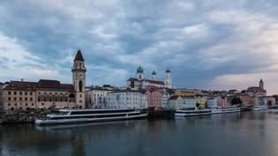 Passau at the Danube, Germany