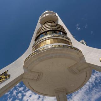 Monument of Neutrality, Ashgabat, Turkmenistan
