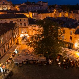 Market Place, Saint Emilion, France