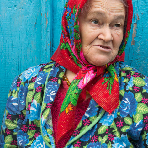 'Babushka' Valentina, Kupuvate, Ukraine