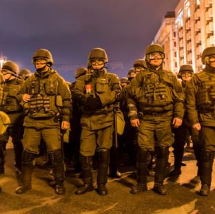 Riots in Kiev, Ukraine