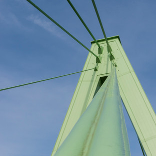 Suspension bridge, Cologne, Germany