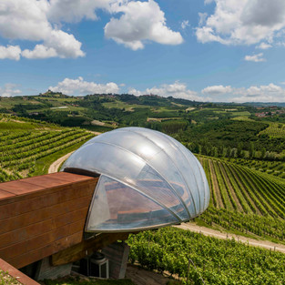 Ceretto Winery with Vineyards, Piedmont, Italy