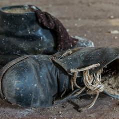 Old Shoes, Chernobyl, Ukraine