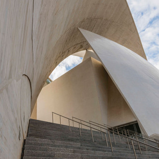 Concert Hall by Calatrava, Tenerife, Spain