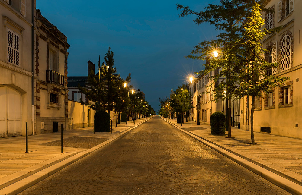 Avenue de Champagne in Reims