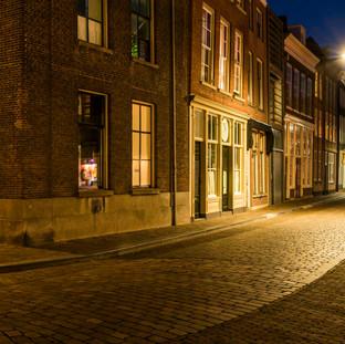 Night in Dordrecht, The Netherlands