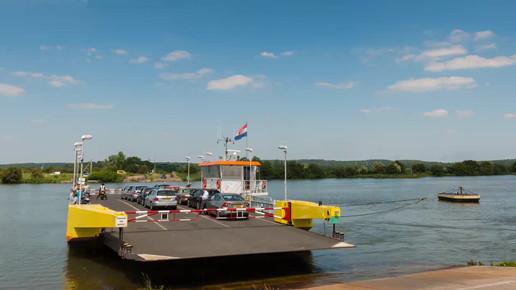 Ferry at Eck en Wiel, The Netherlands
