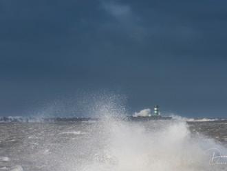 Storm in het land