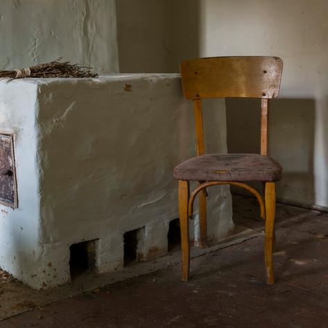 Heater and Chair, Parachiv, Ukraine