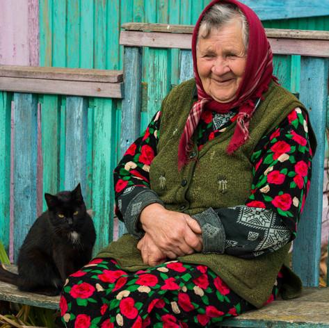 Babushka Maria, Gomel Region, Belarus