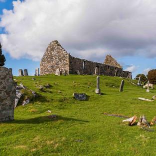 Graveyard and Chapel, Loch Cill Chriosd, Scotland