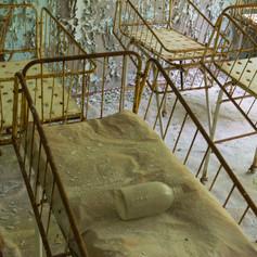 Hospital Beds, Pripyat, Ukraine