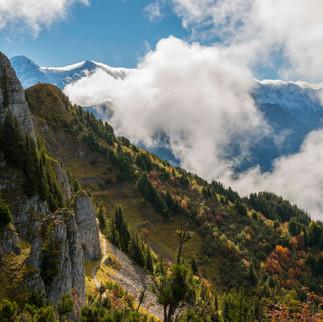 Autumn in the Alps, Switzerland
