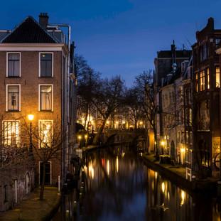 'Oude Gracht' in Utrecht, The Netherlands