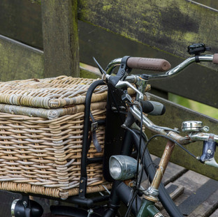 Bicycle with Basket, Giethoorn, The Netherlands