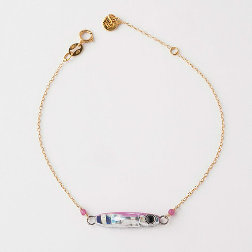 Bracelet Pink Silver