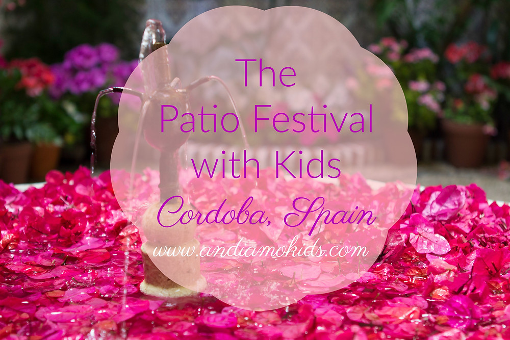 The Patio Festival with Kids Cordoba, Spain